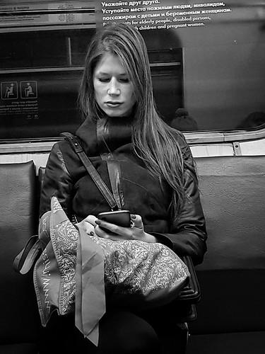 in the subway ©  Sergei F