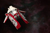 The Bloodstained Emperor (The One And Only Mr.R) Tags: lego red crimson dark ship starfighter vicviper white space bricks