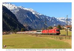 Rh 1116 065 Transalpin - Innerbraz (CC72080) Tags: rh1116 transalpin öbb sbb cff ffs panoramic panoramique innerbraz personenzug zug locomotive lokomotive locomotiva treno train eurocity ec