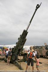 EOS5DIII_201903035012 (Taukeh Yong) Tags: australianarmy avalonairshow howitzer artillery m777