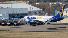 N640GT Boeing 767-3S1(ER) Atlas (SamCom) Tags: kdal lovefield dallaslovefield dal n640gt boeing 7673s1er atlas 767300