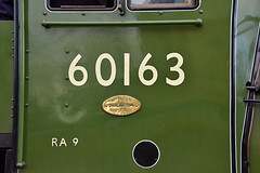60163 Tornado - Cabside Number (simmonsphotography) Tags: railway railroad nenevalley heritage preservation locomotive engine train steam uksteam 60163 tornado peppercorn a1 lner pacific newbuild wansford