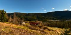Øvre Besteland Hylestad 271018 (Geir Daasvatn) Tags: besteland øvrebesteland hylestad valle abandoned oldfarm landscape setesdal oncewashome