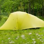 山岳テントの写真