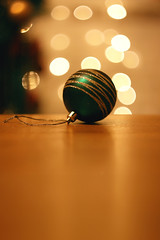 (decemberGirl.) Tags: christmas newyear bauble ornament decoration bokeh helios44m green yellow bright winter