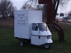 Piaggo Ape 50 (harry_nl) Tags: netherlands nederland 2018 werkendam fortaltena piaggio ape 50