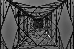 Kaleidoscope Lines (andbog) Tags: grecia greece gr eλλάδα greek sony alpha ilce a6000 sonya6000 emount mirrorless csc sonya sonyα sonyalpha sony⍺6000 sonyilce6000 sonyalpha6000 ⍺6000 ilce6000 apsc α6000 ελλάδα corfù kerkyra κέρκυρα mountpantokrator παντοκράτοροσ handheld communicationtower geometry geometrie sky cielo pov googlenikcollection blackandwhite biancoenero bw bn monochrome oss sel 55210mm sel55210