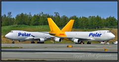 N451PA (L) & N453PA (R) Polar Air Cqargo (Bob Garrard) Tags: n451pa n453pa polar air cargo boeing 74746nf 747 freighter anc panc