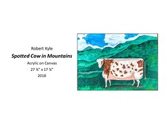 """Spotted Cow in Mountains • <a style=""""font-size:0.8em;"""" href=""""https://www.flickr.com/photos/124378531@N04/46190823765/"""" target=""""_blank"""">View on Flickr</a>"""