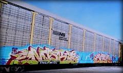 (timetomakethepasta) Tags: more kick rtd msk awr freight train graffiti art ns autorack norfolk southern