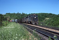The Slide (NSHorseheadSD70) Tags: robert tokarcik penn central transportation company railroads trains railways locomotives emd pennsylvania gallitzin tunnel slide gp382