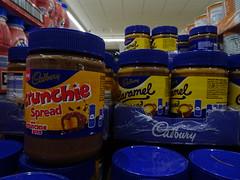 Oh, feel a bit sick (stevenbrandist) Tags: spread aldi food cadbury crunchie caramel supermarket