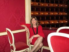 Cremona - Teatro Ponchielli (Alessia Cross) Tags: crossdresser tgirl transgender transvestite travestito