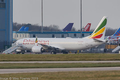 ET-AVK - 2018 build Boeing B737-MAX 8, a rather unusual type change for the ETH728 flight ! (egcc) Tags: 62449 7230 b737 b737max boeing egcc et etavk eth ethiopianairlines lightroom man max8 manchester ringway staralliance