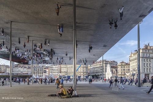 Vieux Port Pavilion // #Marseille 2018 © Julio César Mesa Arch. Norman Foster (2013)