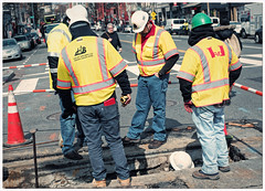2019/063: Pipe Crew (Rex Block) Tags: 2019063pipecrew nikon d750 dslr 50mm f18g washington dc 14thstreet construction crew vests hole dig work project365 365the2019edition 3652019 day63365 04mar19 wah hereios werehere