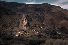 Berber Village, Atlas Mountains, Morocco (KSAG Photography) Tags: morocco village landscape mountains mountain nikon hdr africa northafrica march 2019 atlasmountains