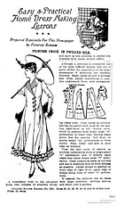 1915 pattern for a women's princess dress (albany group archive) Tags: early 1900s womens clothing old albany ny vintage photos picture photo photograph history historic historical