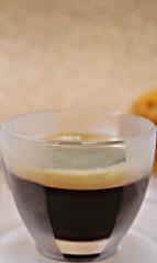 2019 Sydney: Illy Glass espresso cup (dominotic) Tags: 2019 coffee drink glass espresso coffeeobsession closesideviewofcoffee yᑌᗰᗰy illyglasscoffeecup circle coffeebubbles sydney australia