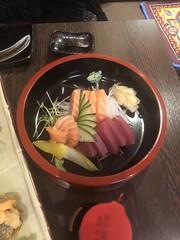Tuna and salmon sashimi (Like_the_Grand_Canyon) Tags: japanese food japan
