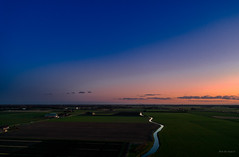Twilight Zone. (Alex-de-Haas) Tags: adobelightroom aurorahdr2019 dji dutch fc6310 hdr holland huiskebuurt nederland nederlands netherlands noordholland phantom phantom4 phantom4pro rc schoorldam warmenhuizen westfrisia westfriesland aerial aerialphotography air beautiful beauty drone dusk landscape landschaft landschap lucht luchtfotografie polder quadcopter schemer schemering skies sky sundown sunset winter zonsondergang