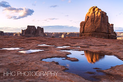 Arches National Park at Dusk (HelenC2008) Tags: arches archesnationalpark utah moab sunset dusk nikon d850