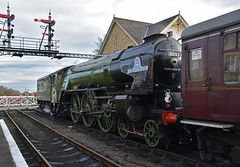 (simmonsphotography) Tags: railway railroad nenevalley heritage preservation locomotive engine train steam uksteam 60163 tornado peppercorn a1 lner pacific newbuild wansford