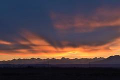 DSC_3162_gimp (STE) Tags: tramonto sunset cielo sky nuvole clouds