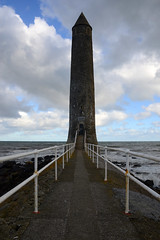"""CHAINE TOWER, LARNE, CO. ANTRIM, N. IRELAND. (EXPLORED) (ZACERIN) Tags: """"lighthouses in ireland"""" """"zacerin"""" """"christopher paul photography"""" """"eire"""" """"picures of lighthouses"""" """"photos """"pictures chaine tower lighthouse"""" n northern county antrim """"""""lighthouses antrim"""" """"chaine tower"""" """"larne"""" """"co """"n """"northern larne"""" """"port chainetower chainememorialtower jameschaine zacerin christopherpaulphotography"""