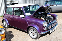 1997 Rover Mini Cooper P111OOW Brooklands Mini Day March 2019 (davidseall) Tags: 1997 rover mini cooper car p111oow p111 oow classic original old shape style great british brooklands day march 2019 weybridge surrey uk