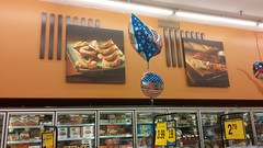 Seafood Product Images (Retail Retell) Tags: batesville ms kroger panola county retail 2012 bountiful décor formerly wannabe neon former food world