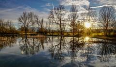 Sunset, Benediktbeuern (Stefan Wegner) Tags: stefanwegner sony alpha6000 zeiss touit2812 sunstar sunset againstthesun reflection spiegelung bayern bavaria