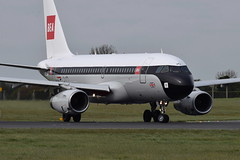BEA retro jet (eigjb) Tags: dublin airport eidw international collinstown jet transport aviation aircraft airplane plane spotting aeroplane 2019 geupj a319 british airways retro livery bea airbus airliner