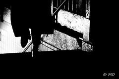 Rushing (mathieuo1) Tags: nyc newyorkcity town city bnw blackandwhite street streetphotography spi rush dark sub entrance black nikon usa feet contrast travel composition graphism urban path way fineart night mathieuo