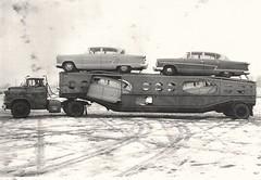 Chevy 5700: ARCO Carriers (PAcarhauler) Tags: gmc carcarrier semi truck trailer tractor nash rambler