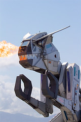 190323 airshow 146 (beverlykaytw) Tags: salinas california airshow air show airplane blue angel sky cloud fly soar robosaurus fire flame teeth