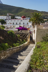 Canary islands gran canaria winter 2018_2019 29122018 176 (Dirk Buse) Tags: canarias spanien esp agaete spain europa kanaren canary islands city urban town architecture stairs treppe stufen mft m43 mu43 olympus sonne licht sunny dax
