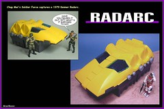 Kenner - Radarc  03 (StarRunn) Tags: kenner radarc toy sf sciencefiction vehicle 118 1970s chapmei soldierforce adventureman actionfigures
