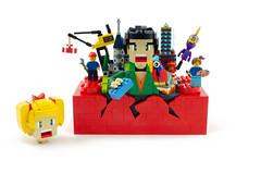 You can buy this LEGO set! Imagine it, Build it! (Brickbaron) Tags: legoartist lego locomotive brick legohouse 60thanniversary imagination creativity town city castle space bricklink anime