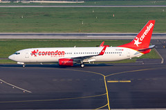TC-CON Corendon Airlines Boeing 737-81D (buchroeder.paul) Tags: eddl dus dusseldorf international airport germany europe ground tccon corendon airlines boeing 73781d