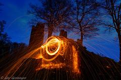 on fire (Guy Goetzinger) Tags: ereignisse feuerwerk nachtaufnahmen szenen lightpainting fire goetzinger nikon d850 firework photooftheday 2019 photoshooting lostplaces schenkenberg light