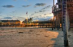 Pismo Pier Dawn 4-12-18 (rod1691) Tags: california pismo beach pier sunrise clouds sky sand