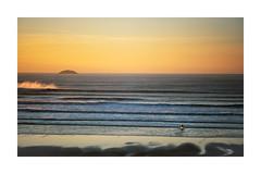 HAD ENOUGH (Barry Haines) Tags: flickrsbest sony a7r2 a7rii voigtlander 110mm f25 cornwall new polzeath surfer sea sky sunset