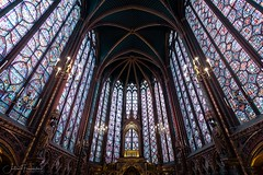 Chapelle Haute, Sainte-Chapelle, Paris (www.fromentinjulien.com) Tags: fromus75 fromus fromentinjulien fromentin flickr view exposure shot hdr dri manual blending digital raw photography photo art photoshop lightroom photomatix french francais light traitements effets effects world europe france paris parisien parisian capitale capital ville city town città cuida colocación monument history 2019 photographe photographer eos canon fullframe full frame ff urban travel architecture cityscape 5d 5dmarkiv saintechapelle vitraux vitrail 1635 1635mm ef1635isusm