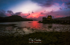 Eilean Donan (PepinAir) Tags: scotland reinounido gb landscape sunset sun sundown dji spark photodrone photoair airphoto panoramic