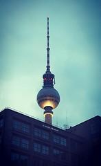 Berlin TV-Tower (Jenke-PhotozZ) Tags: berlin buildings berlin365 fernsehturm view visitberlin vignette tvtower love iloveberlin perspective photography alexanderplatz mitte motive architecture aussicht abstract dark beautiful amazing blue lookup light urban europe germany turm tower