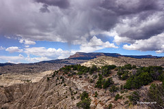 Utah Landscape_198094 (rjmonner) Tags: clouds country exposed elevation earth exploration explore geology hills inert sky landscape land light mountains natural nikon outdoors overlook outland squall rural texture textured usa utah view vista vacation y