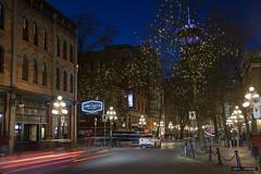 The Lamplighter Public House (Clayton Perry Photoworks) Tags: vancouver bc canada winter explorebc explorecanada night lights gastown skyline