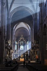 Light and Shadow (sharon.corbet) Tags: worms cathedral wormscathedral germany light rheinlandpfalz altar 2019