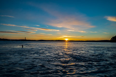 Sunrise Falun (real.jtj) Tags: sunrise sun soluppgång sol is ice lake sjö winter vinter trees tree träd falun sweden sverige runn dalarna hdr nikon d500 clouds moln cloud heaven himmel himlen nature natur